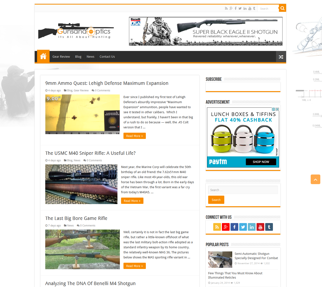 Online Blog On Sporting Goods