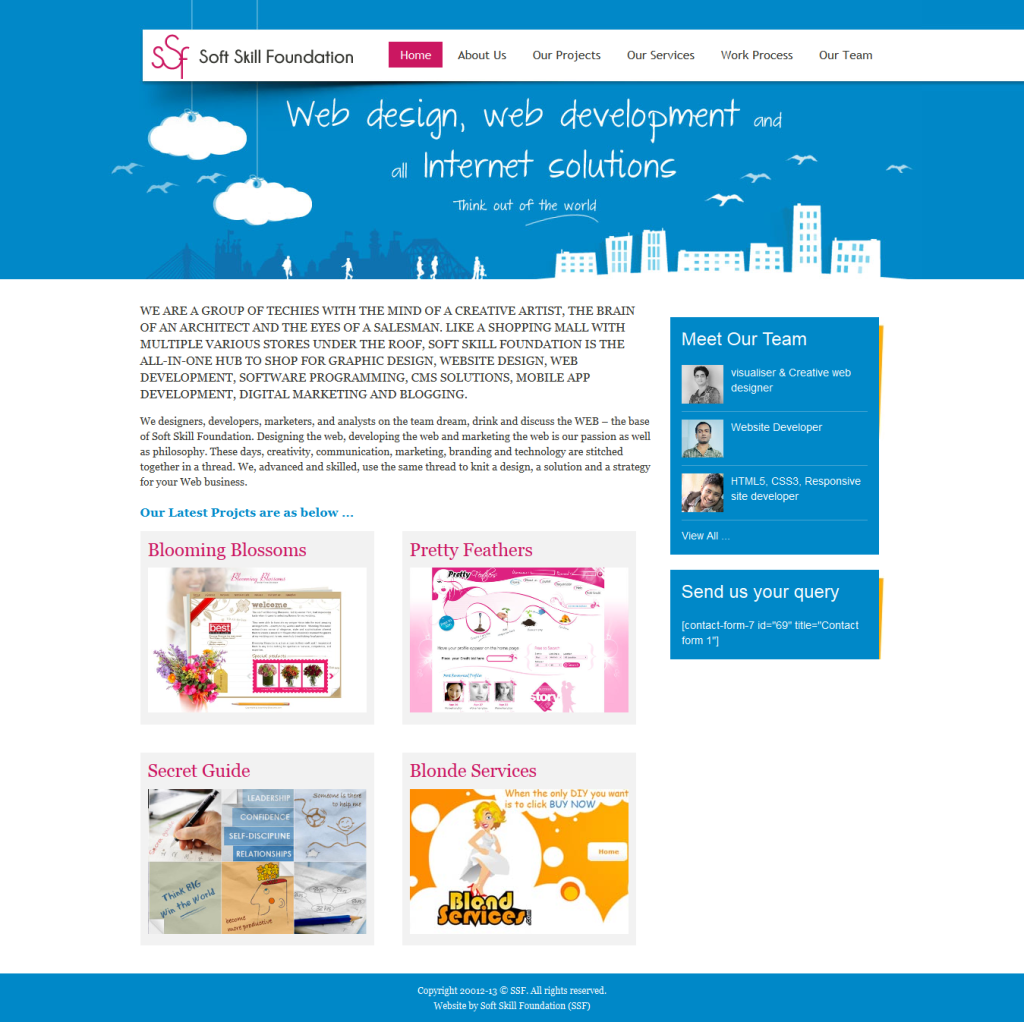 Web Design & Development Website
